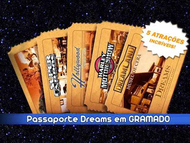 Passaporte Combo Dreams