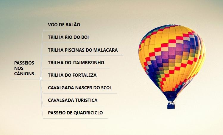 Voo de balão em Gramado
