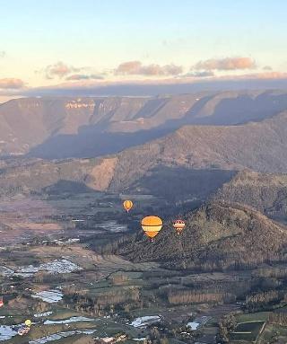 Como voar de balão em Gramado